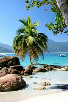 Praia do Aventureiro, Ilha Grande, Brasil - Beautiful beaches are bountiful. Places Around The World, Oh The Places You'll Go, Places To Travel, Places To Visit, Travel Destinations, Dream Vacations, Vacation Spots, Vacation Places, Italy Vacation