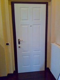 Porta blindata bianca - Fratelli Brivio #door | Porte blindate ...
