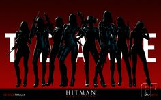 Hitman Absolution - Female Artwork E3 2012 Tease !