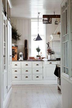 Swedish White Cottage