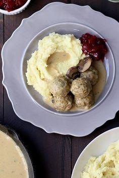 Vegetarian Swedish Meatballs | 29 Things You Should Eat In February