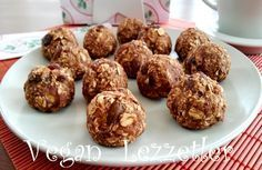 Vegan Lezzetler: Yulaflı Kolay Kurabiye – Vegan yemek tarifleri – The Most Practical and Easy Recipes Oat Cookies, Yummy Cookies, Cute Food, Good Food, Yummy Food, Vegan Recipes, Snack Recipes, Dessert Recipes, No Gluten Diet