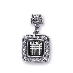 Bingo Memory Charm http://www.inspiredsilver.com/ #InspiredSilver #Charms #Bingo