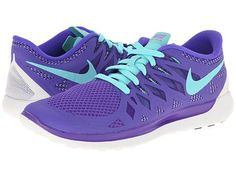 Nike Nike Free 5.0 '14 Hyper Grape/Court Purple/Summit White/Hyper Turquoise - Zappos.com Free Shipping BOTH Ways, size 7