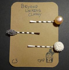 Want to Look Beyond Looking Classy? Try out these C3 pin pack of 3 to impress  Etsy.com