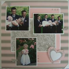 scrapbook wedding double page layouts   Card Ideas Scrapbooking Layouts Other Paper Craft Ideas Wedding ...