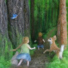 Hansel & Gretel: A Fairy Tale with a Down Syndrome Twist Illustrated by Claudia Marie Lenart Author Jewel Kats