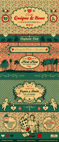 Really cute, vintage web design that includes illustrations. Nicely done. #webdesign #vintage #illustration