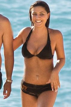 Helena Paparizou and Belly Button Piercing Helena Paparizou, Celebrity Piercings, Swimsuits, Bikinis, Swimwear, Belly Button Piercing, Story Characters, Beach Babe, Summer Girls
