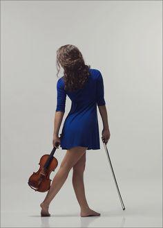 Claire McAdams Photography: Violinist's Senior Portraits