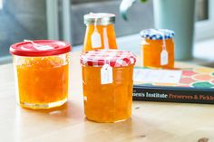 When I stumbled upon arecipe for a preservecalled Ambrosia Jam, I just knew I had to make it. The name was just so tempting and the ingredients were full of promise. It was a surprise to find a recipe for pineapple, apricot and orange jam in my old Women's Institute Preserves & Pickles