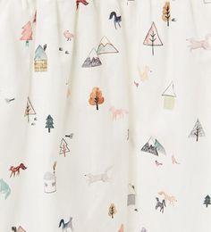 simple, kids, adventure, cute, print, woodland, adventure, nature, icon, print, pattern