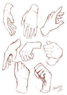 Hands Sketches by keishajl on DeviantArt