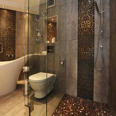 Sparkles bathroom gold