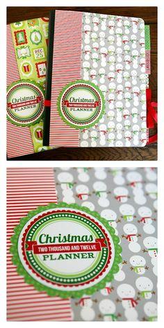 eighteen25: 2012 Christmas Planner - free printables!