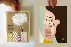 pack Mom makes tears in pipas & Dad makes clouds in by vireta, €22.50
