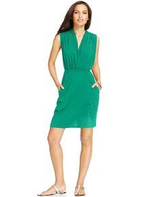 Kut from the Kloth Emily-Wrap Tie Knit Dress - Dresses - Women - Macy's