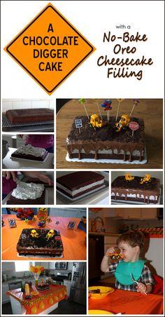 Chocolate Oreo Construction Cake | Barbara Bakes