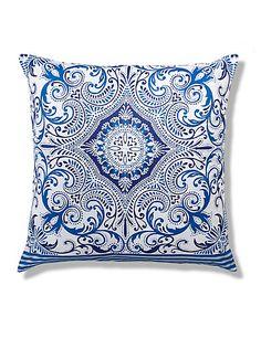 Large Morrocan Tile Print Cushion Home