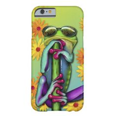Totally cool tree frog in sunglasses #tree #frog #colorful #art nature