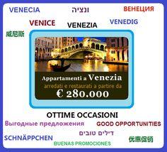Appartamenti a Venezia , ottimo investimento, ottima rendita