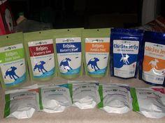 Pet Kelp Supplements, Chicken Jerky treats and Kelpies Dog Treats