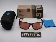 Copper 580P Lenses RFT 01 OCP NEW Costa del Mar Reefton Blackout Frame