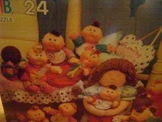 Cabbage Patch Kids Puzzle 24 Piece Milton Bradley 4069-2