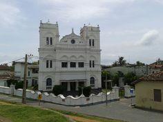 Sri Lanka -Church by the sea