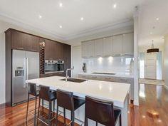 Floorboards in a kitchen design from an Australian home - Kitchen Photo 15891693