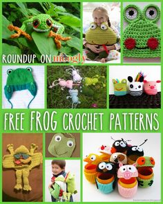Don't Frog that Frog: 10 Free Crochet Frog Patterns!