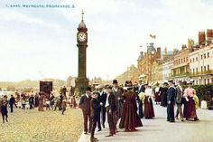 A collection of old postcards of Weymouth in Dorset, England Old Images, Old Photos, Scenic Photography, White Photography, Weymouth Dorset, Wow Video, Dorset England, Vintage Postcards, Edwardian Era