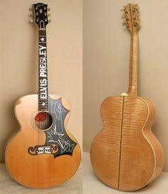 Legendary Guitar: Elvis Presley's Gibson J-200....