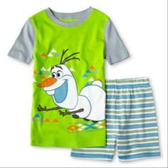Disney #Frozen Olaf Pajamas for Boys - snugglenado.com