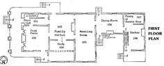 Historical Society of Quincy and Adams County: John Wood Mansion Floor Plans