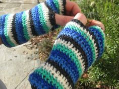 Crochet Fishing Gloves