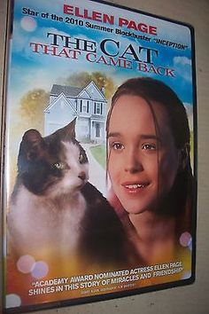 THE CAT THAT CAME BACK:GHOST CAT - ELLEN PAGE  2004 FAMILY DRAMA DVD