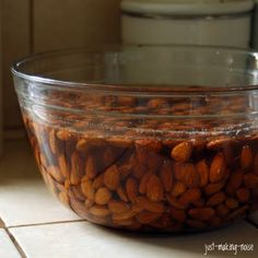 just-making-noise: Soaking Nuts & Seeds