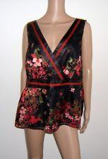NWOT Womens Lane Bryant 20 Top Floral Blouse