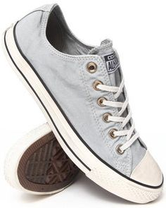 feab33cdb14bc5 Love this Washed Canvas Chuck Taylor All Star Ox Sneakers... on DrJays.