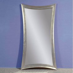 Check out the Bassett Mirror M3495EC Torino Leaner Mirror in Clear ...