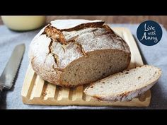 Chléb z kvásku | recept bez hnětení - YouTube New Recipes, Banana Bread, Menu, Desserts, Food, Youtube, Creative, Menu Board Design, Tailgate Desserts