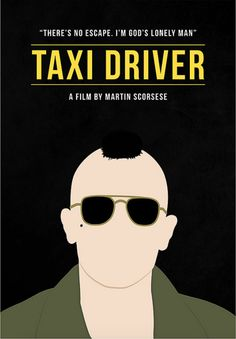 Taxi Driver (1976) ~ Alternative Movie Poster by Polar Designs #amusementphile