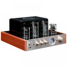 NPS MKII Hifi Vaccum Tube Amplifier USB/Bluetooth Home Audio Amplifier amplificador bluetooth amp Hifi Stereo, Audio Amplifier, Bluetooth Amp, Headphone Amp, Vacuum Tube, Ms, Free Shipping, Curly Blonde, Black