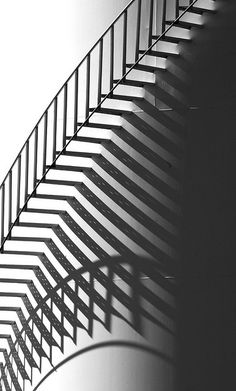 Black & White Photography Inspiration : Tank Stair BW by SCFiasco Shadow Silhouette, Shadow Art, Shadow Play, Stairway To Heaven, Black N White Images, Abstract Photography, Street Photography, Stairways, Belle Photo