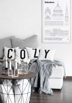 Only Deco Love: Winter Cozyness from Type Hype, with love from Berlin