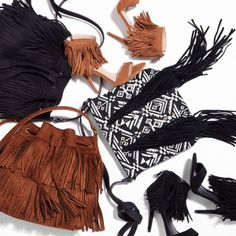 Buttery soft texture & carefree movement – it's all about the fringe.#Express #fringe #festivalstyle