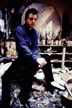 Francis Bacon by Ian Berry 1967 London.