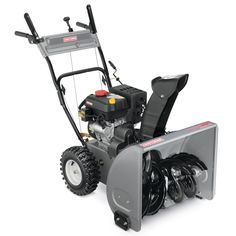 Craftsman 24-in. Dual-Stage Snow Blower: Snow Removal is Easy at Sears