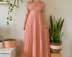 Vintage Clothing and Beyond by SpacedOutMama on Etsy Vintage Clothing, Vintage Outfits, Grecian Goddess, Hippie Skirts, Newsboy Cap, Collar Shirts, Shirt Jacket, Flower Power, Pink Purple